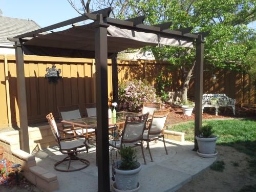 Quot Love Our New Pergola It S Sturdy And Fits Perfectly In