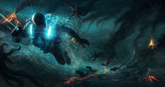 Concept Base Underwater
