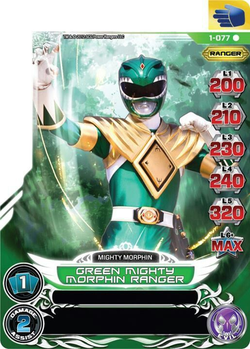 Mighty Morphin Power Rangers Cards