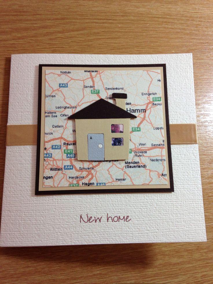 Handmade New Home Card Ideas