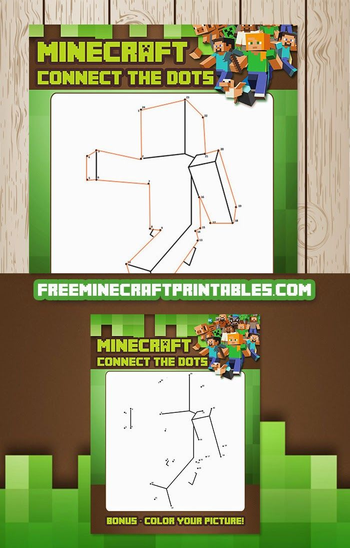 Dot Worksheet Dot Minecraft