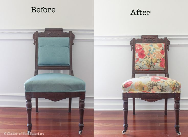 Turquoise Blue Accent Chair