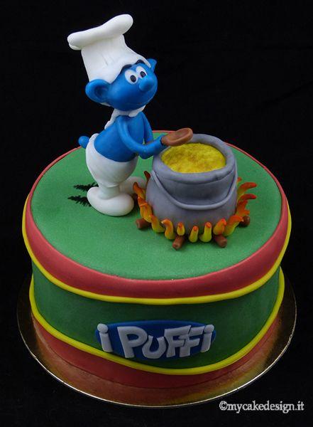 Awesome Cake Decorating Smurf