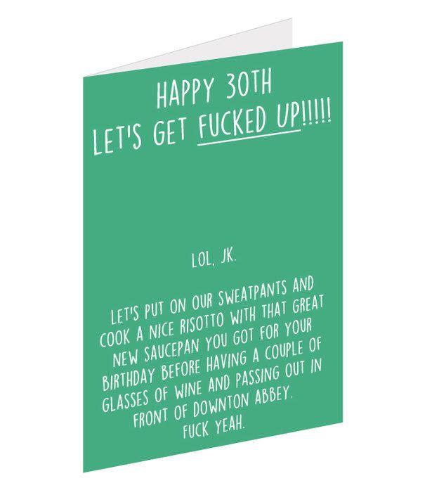 Happy 30th Birthday Jokes