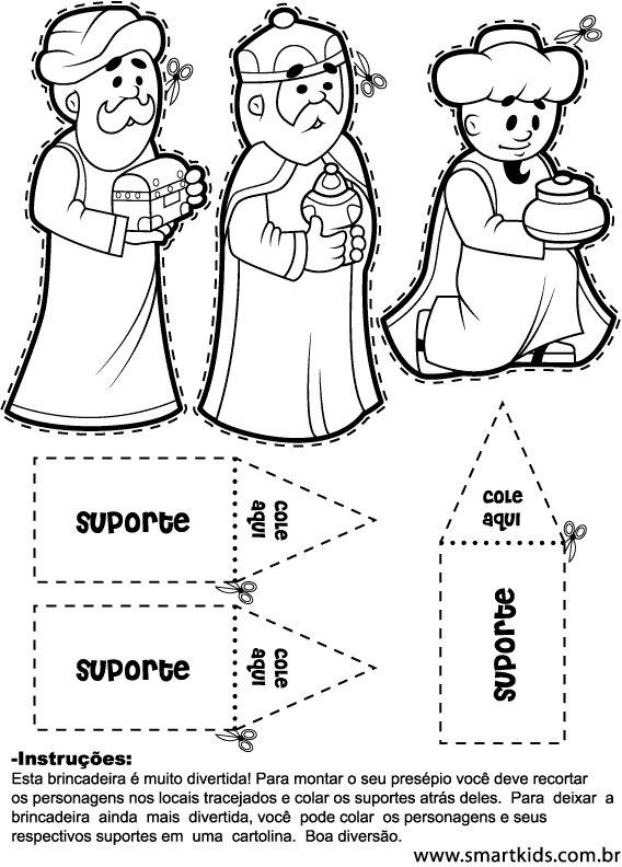Page Out Jesus Manger Cut