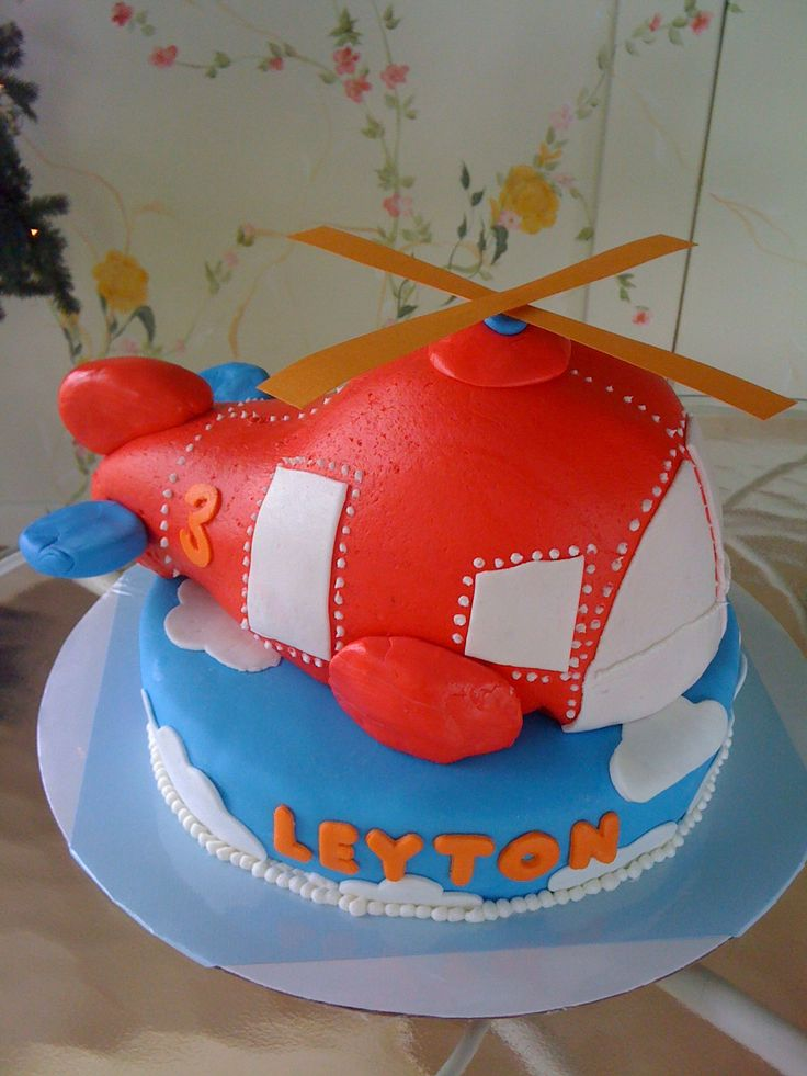 Helicopter Cake Bridgers Dream Cake Kiddos