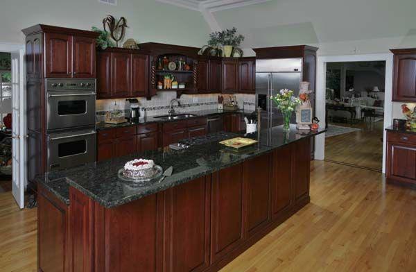 Futuristic Black Slate Countertop For Kitchen Magic With