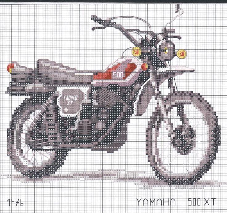 Harley Davidson Crochet Graph Pattern