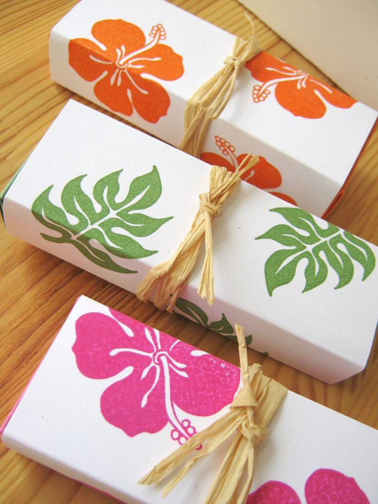Hawaiian Wedding Favors