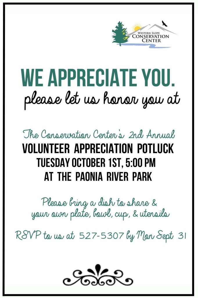 Free Printable Volunteer Invitations