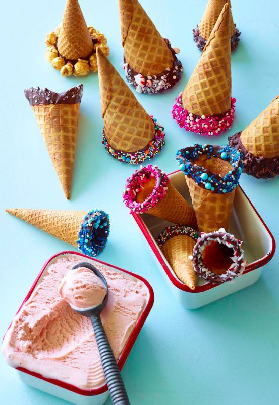 Paper Ice Cream Cone Holders