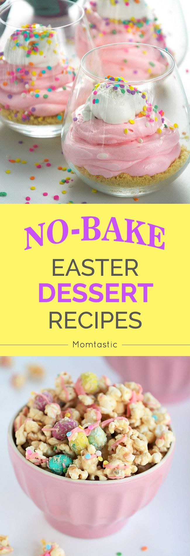 Easter Cakes No Bake