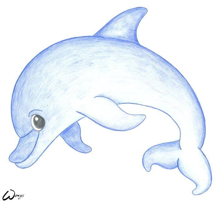 Baby Mermaid Cartoons Baby Dolphin By Woxys Cake Ideas