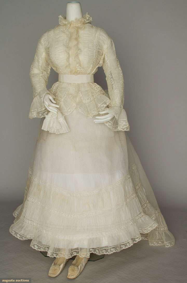 Colonial Era Wedding Dresses