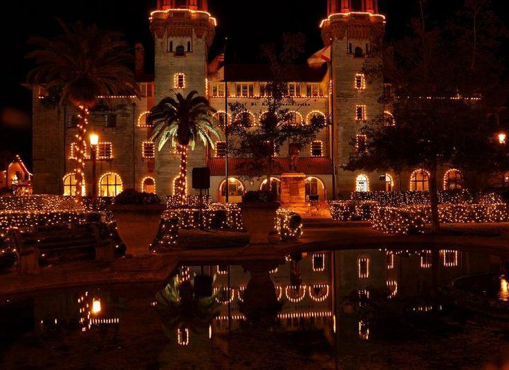 Christmas Lights St Augustine