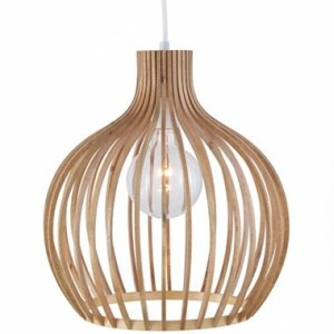 Wooden Pendant Light Shade   Democraciaejustica Studiotm Pendant Ceiling Light With Round Wood Shade