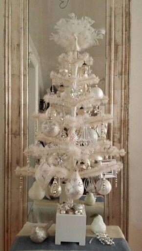 Christmas Mantle And Tree