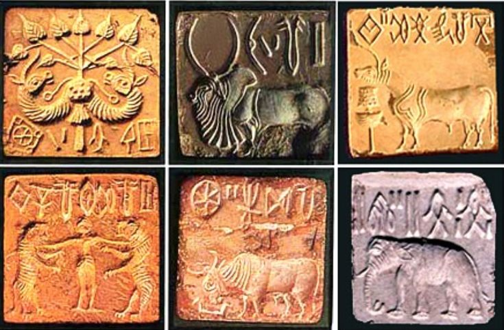 Stone Seals from Mohenjodaro   Mera Pakistan ...