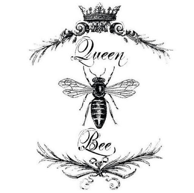 vintage honey bee printables