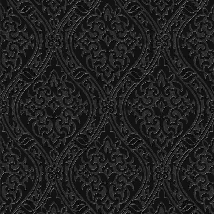 Black White Damask Screensaver