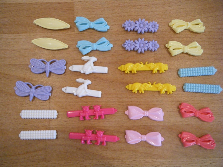 Hair Vintage Barrettes Goody