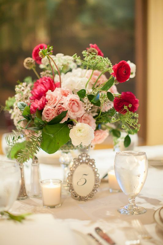 Flower Table Decorations Weddings