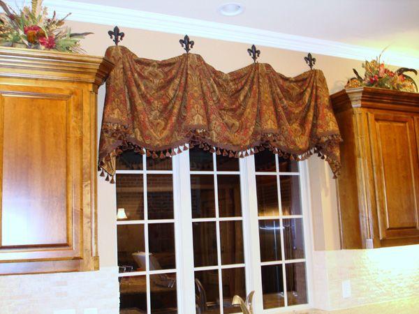 Shower Curtain Lavender Valance