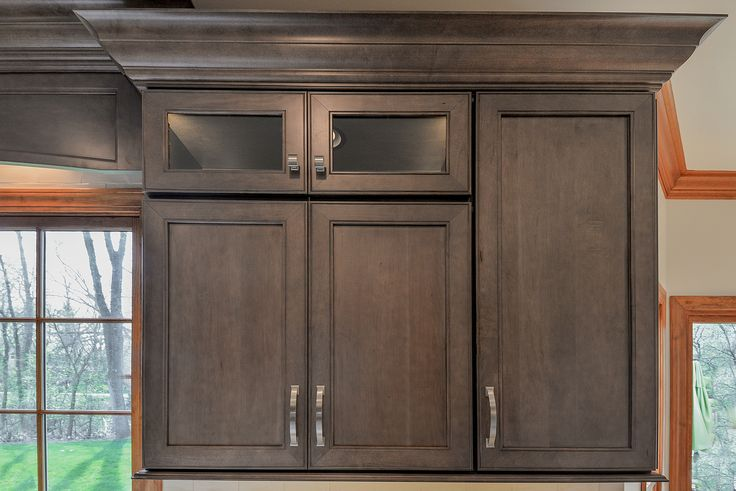 Maple Wood Colors Cabinet