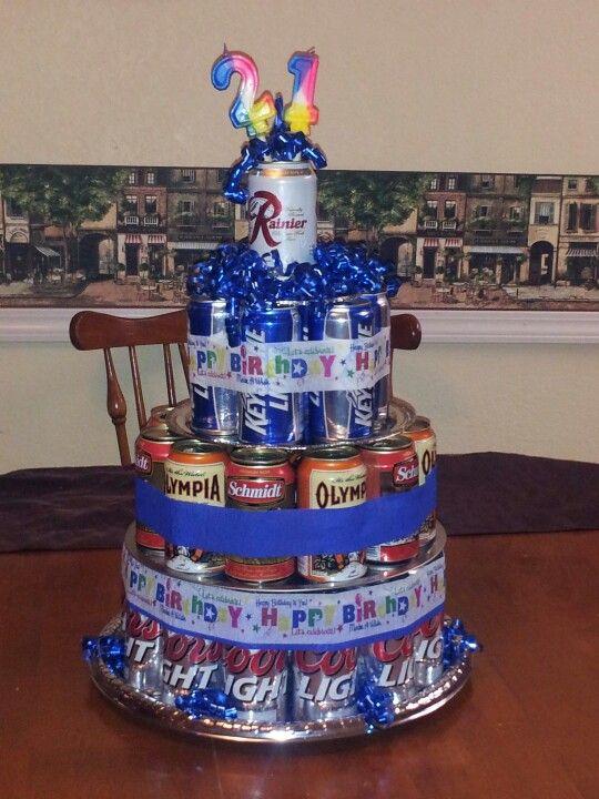 Birthday Carl Happy Cake