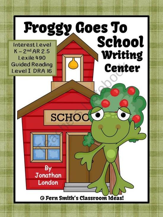 London Froggy Jonathan Printables Goes School
