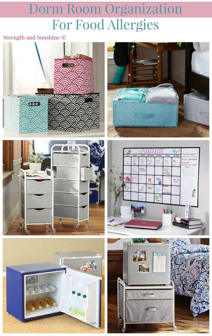 Ways Organize Dorm Room