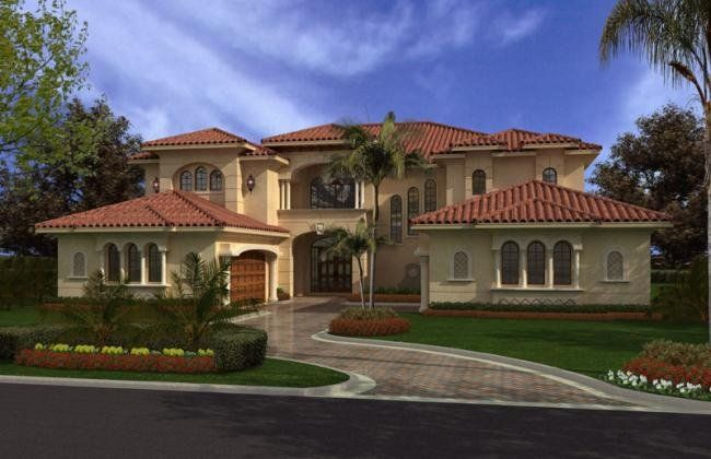 Two Story Spanish Homes