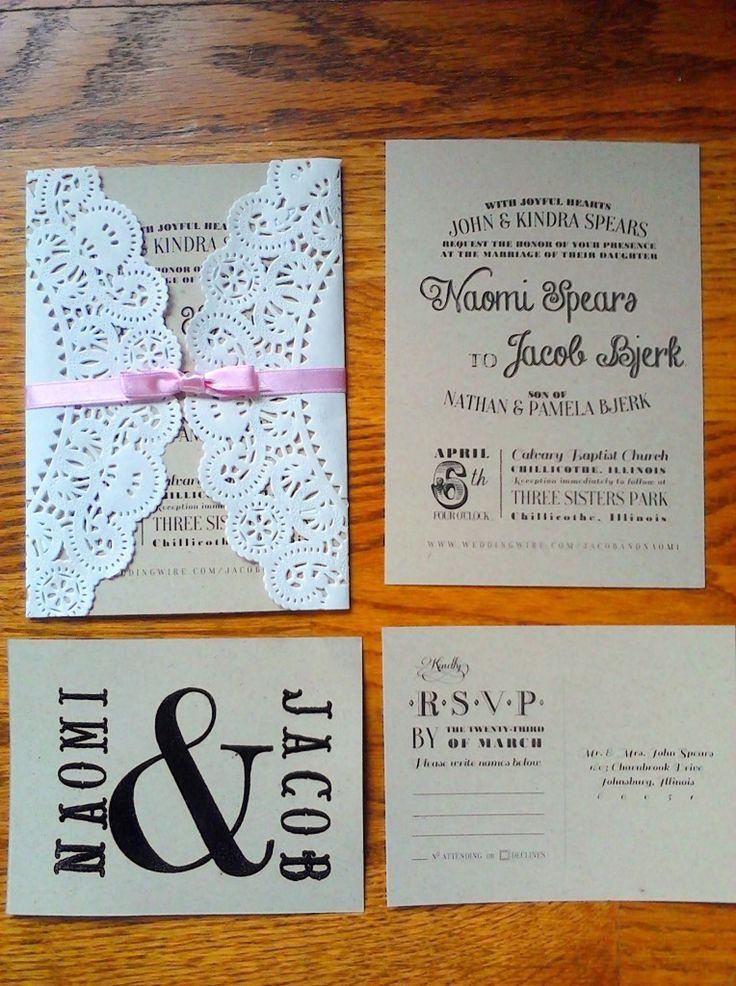 Inexpensive Wedding Invitation Kits