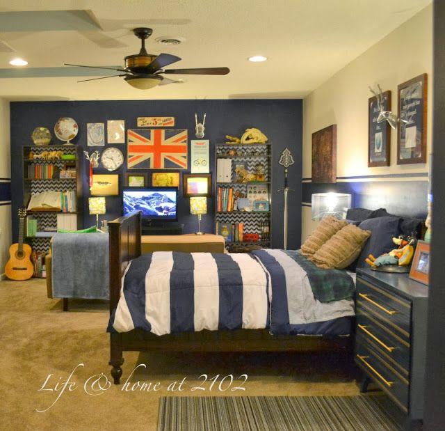 Life Amp Home At 2102 Tween Boy Bedroom Update Reveal