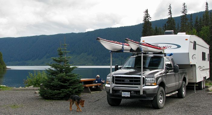 Kayak Racks Fifth Wheel Trailers