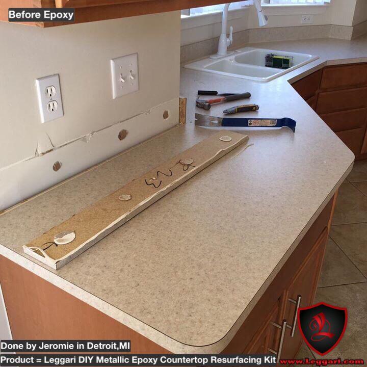 Diy Countertop Resurfacing Kit