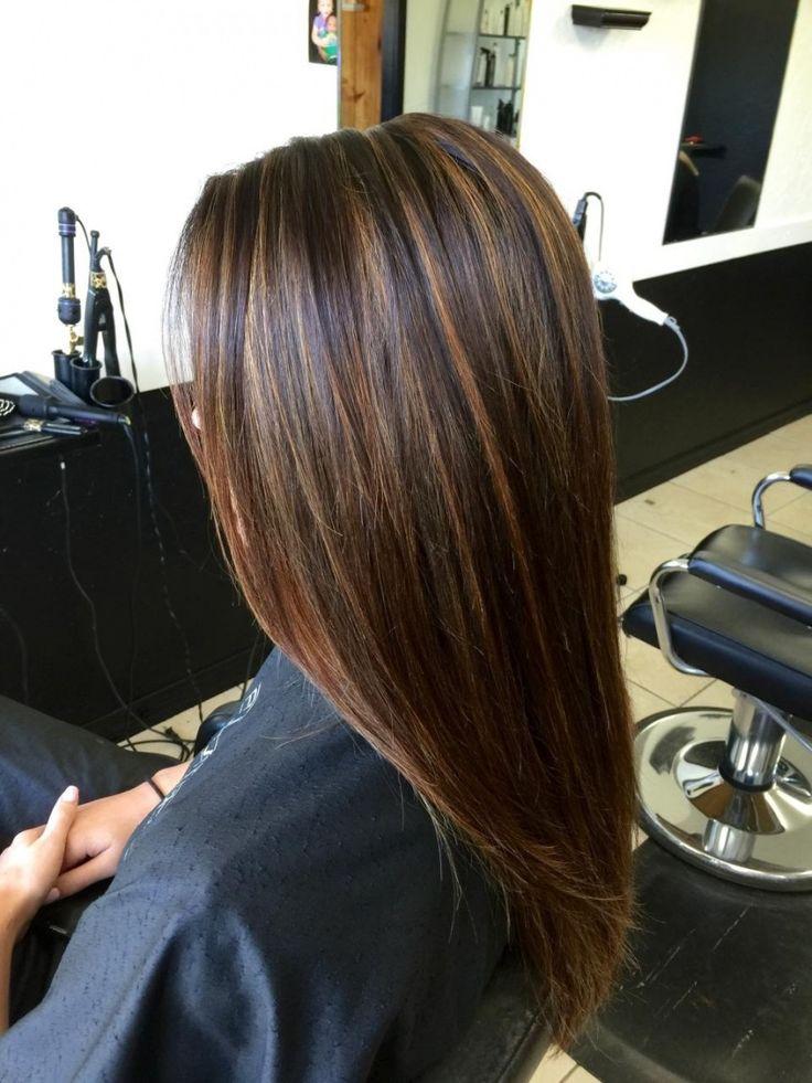 Brown Hair Light Brown Foils