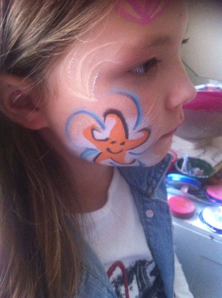 Face Painting Carnival Clip Art