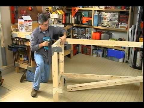 How To Build A Simple Work Bench Using Easy To Use