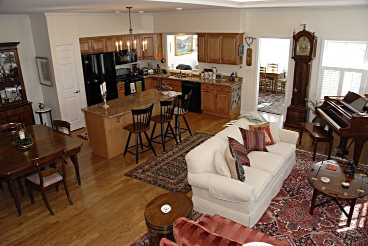 Floor Plan Kitchen And Dining Room