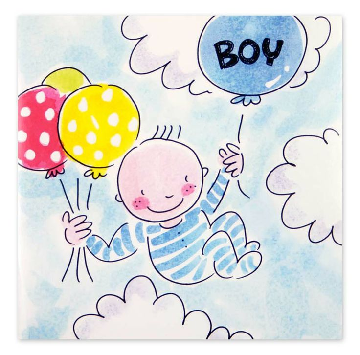 Baby Boy Colors Baby Shower