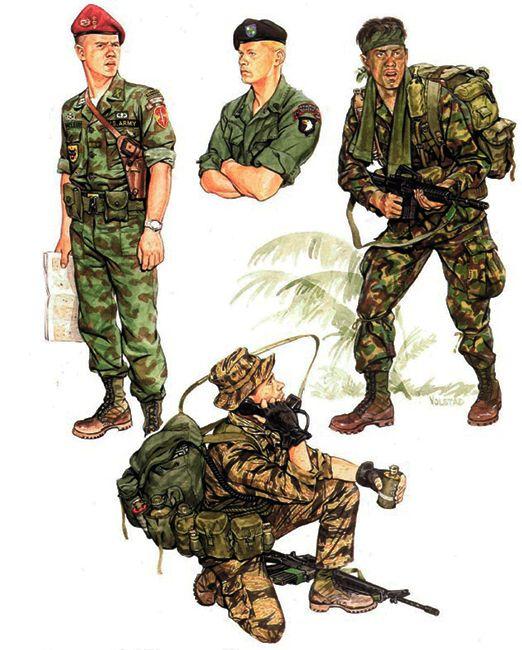 Us Army Units Vietnam 1968