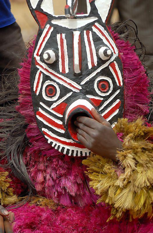Dance African Tribal Masks