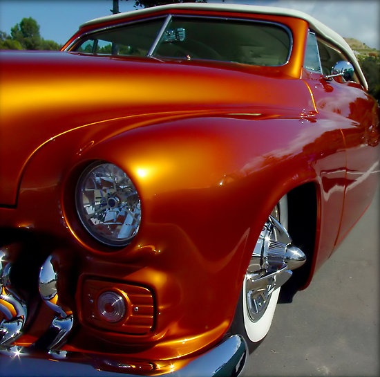 Tangerine Candy Paint Cars