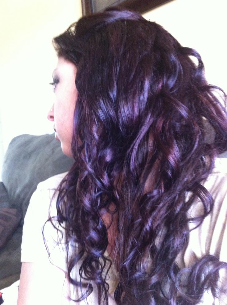 Plum hair color:) | hair | Pinterest | Colors, Hair ideas ...
