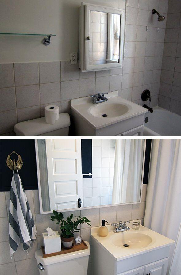 Faux Bathroom Countertop