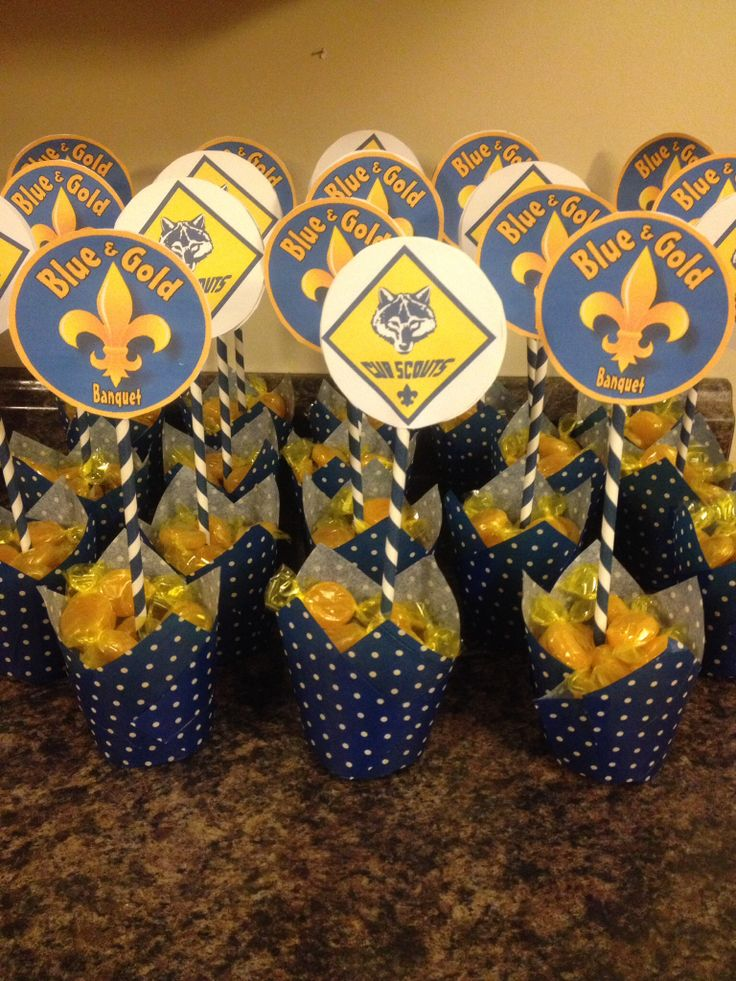 Cub Scout Blue Gold Banquet Decorations