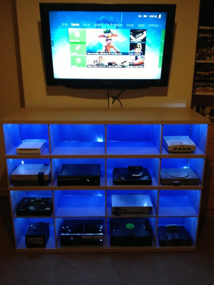 Game Shelves Mount Holder Wall Ideas Game System