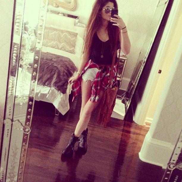 Fashion Kylie Flannel Jenner