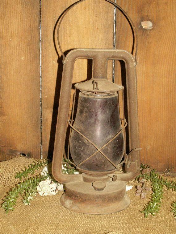 Lanterns Antique Train Oil